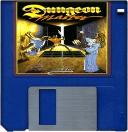Artwork on the Disc for Dungeon Master: Chaos Strikes Back - Expansion Set #1 on the Commodore Amiga.