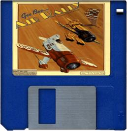 Artwork on the Disc for Gee Bee Air Rally on the Commodore Amiga.
