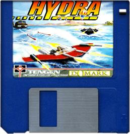Artwork on the Disc for Hydra on the Commodore Amiga.