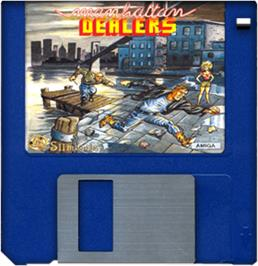 Artwork on the Disc for Operation: Cleanstreets on the Commodore Amiga.