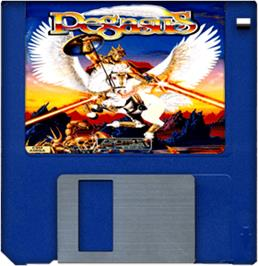 Artwork on the Disc for Pegasus on the Commodore Amiga.
