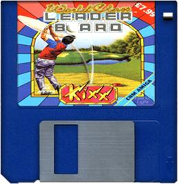 Artwork on the Disc for World Class Leaderboard on the Commodore Amiga.