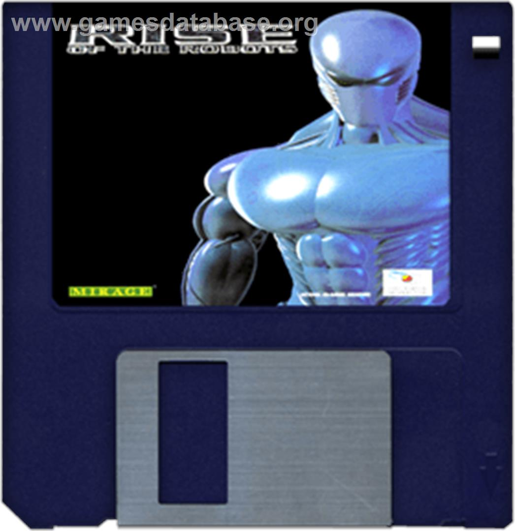 Rise of the Robots - Commodore Amiga - Artwork - Disc