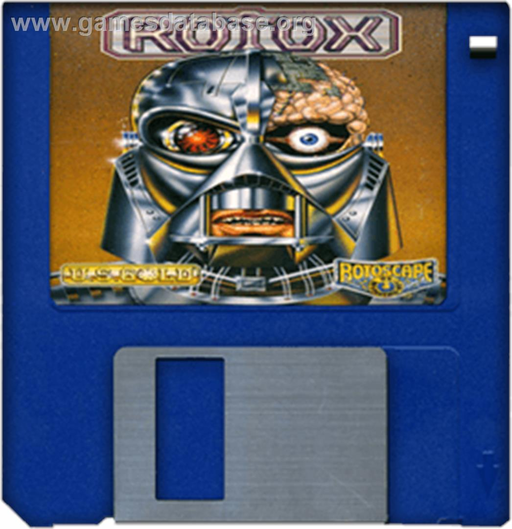 Rotox - Commodore Amiga - Artwork - Disc