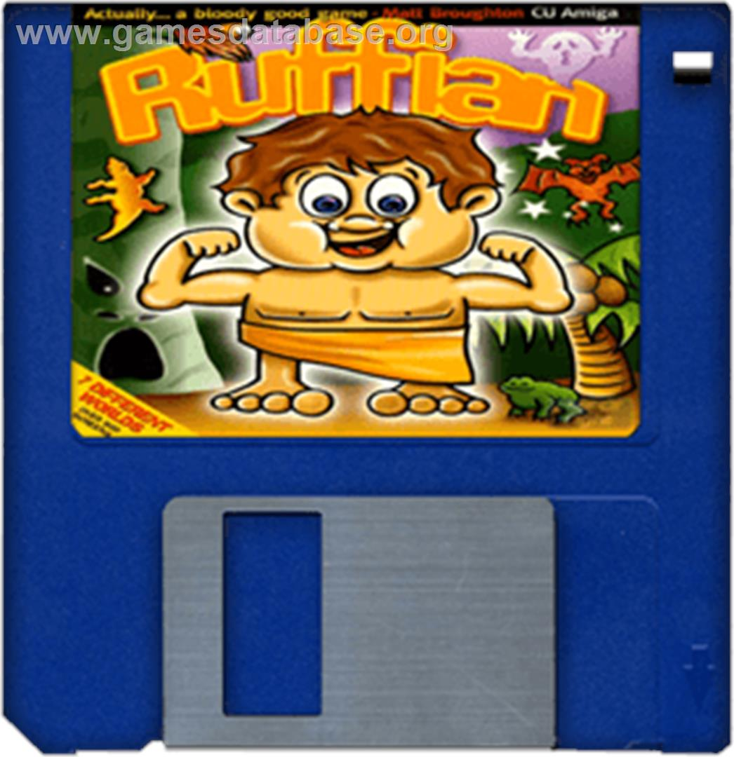 Ruffian - Commodore Amiga - Artwork - Disc