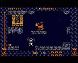 In game image of 9 Lives on the Commodore Amiga.