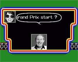 In game image of A Question of Sport on the Commodore Amiga.