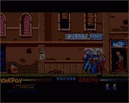 In game image of After the War on the Commodore Amiga.