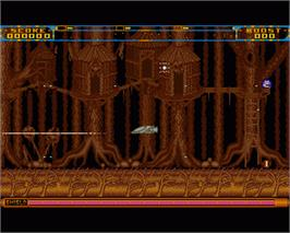In game image of Anarchy on the Commodore Amiga.