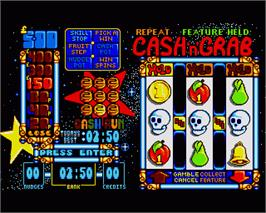 In game image of Arcade Fruit Machine on the Commodore Amiga.