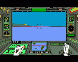 In game image of Arcticfox on the Commodore Amiga.