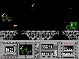 In game image of Army Moves on the Commodore Amiga.