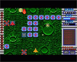 In game image of Artificial Dreams on the Commodore Amiga.
