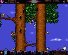 In game image of Assassin on the Commodore Amiga.