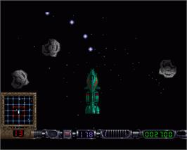 In game image of Awesome on the Commodore Amiga.