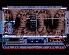 In game image of Baal on the Commodore Amiga.