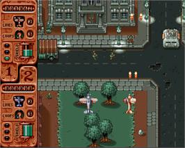 In game image of Banshee on the Commodore Amiga.