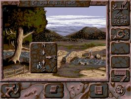 In game image of Black Sect on the Commodore Amiga.