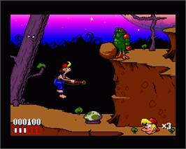 In game image of Bubba 'n' Stix on the Commodore Amiga.