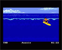 In game image of California Games 2 on the Commodore Amiga.