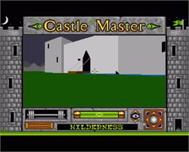 In game image of Castle Master on the Commodore Amiga.