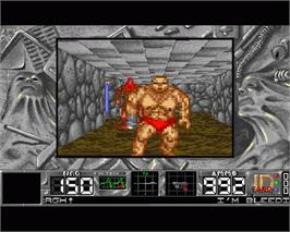 In game image of Citadel on the Commodore Amiga.