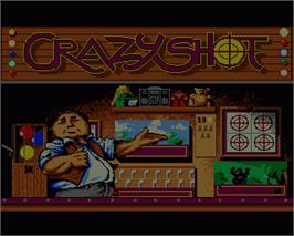 In game image of Crazy Shot on the Commodore Amiga.