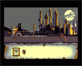 In game image of Crown on the Commodore Amiga.