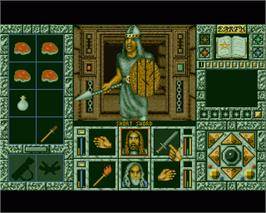 In game image of Crystal Dragon on the Commodore Amiga.