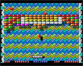In game image of Crystal Hammer on the Commodore Amiga.