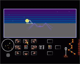 In game image of Eco on the Commodore Amiga.