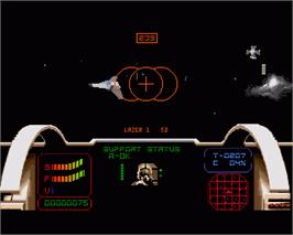 In game image of Epic on the Commodore Amiga.