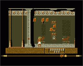In game image of Eye of Horus on the Commodore Amiga.