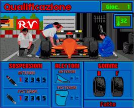 In game image of F1 on the Commodore Amiga.