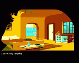 In game image of Fascination on the Commodore Amiga.