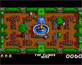 In game image of Fast Food on the Commodore Amiga.