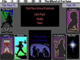 In game image of Fool's Errand on the Commodore Amiga.