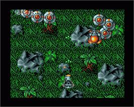 In game image of Frenetic on the Commodore Amiga.