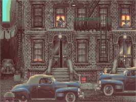 In game image of Godfather: The Action Game on the Commodore Amiga.