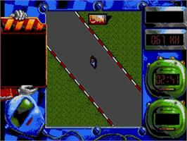 In game image of Grand Prix Master on the Commodore Amiga.