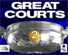 In game image of Great Courts 2 on the Commodore Amiga.