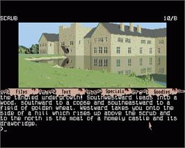 In game image of Guild of Thieves on the Commodore Amiga.