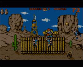 In game image of Hammer Boy on the Commodore Amiga.