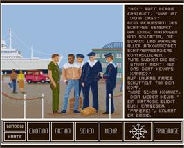 In game image of Holiday Maker on the Commodore Amiga.