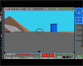 In game image of Jet on the Commodore Amiga.