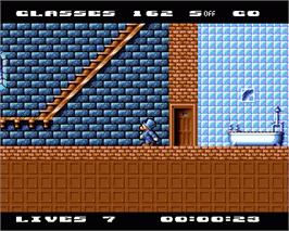In game image of Jet Set Willy 2 on the Commodore Amiga.
