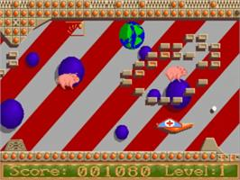 In game image of Jinks on the Commodore Amiga.
