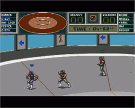In game image of Killerball on the Commodore Amiga.