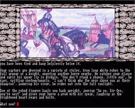 In game image of Knight Orc on the Commodore Amiga.