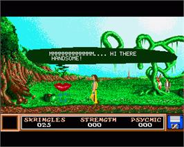In game image of Kristal on the Commodore Amiga.